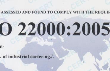 XIN GIẤY CHỨNG NHẬN ISO 22000 VÀ HACCP