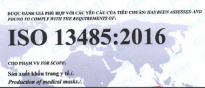 Dịch vụ chứng nhận ISO 13485