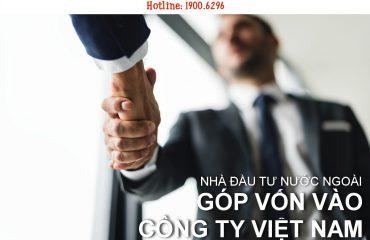 Nhà đầu tư nước ngoài góp vốn, mua cổ phần trong công ty cổ phần tại Việt Nam