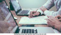 Hướng dẫn thủ tục thành lập kinh doanh hộ cá thể mới nhất