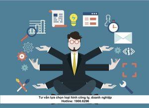 Tư vấn lựa chọn loại hình công ty, doanh nghiệp
