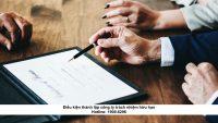 Điều kiện thành lập công ty trách nhiệm hữu hạn
