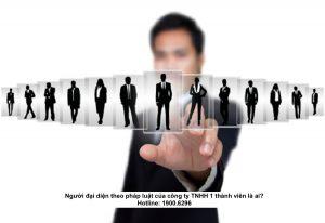 Người đại diện theo pháp luật của công ty TNHH 1 thành viên là ai?