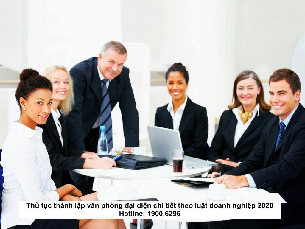 Thủ tục thành lập văn phòng đại diện chi tiết theo luật doanh nghiệp 2020