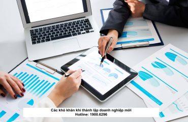 Các khó khăn khi thành lập doanh nghiệp mới