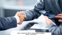Dịch vụ thành lập doanh nghiệp quận Long Biên