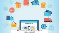 Giấy phép sàn giao dịch thương mại điện tử