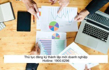 Thủ tục đăng ký thành lập mới doanh nghiệp
