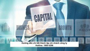 Hướng dẫn chi tiết thành lập chi nhánh công ty