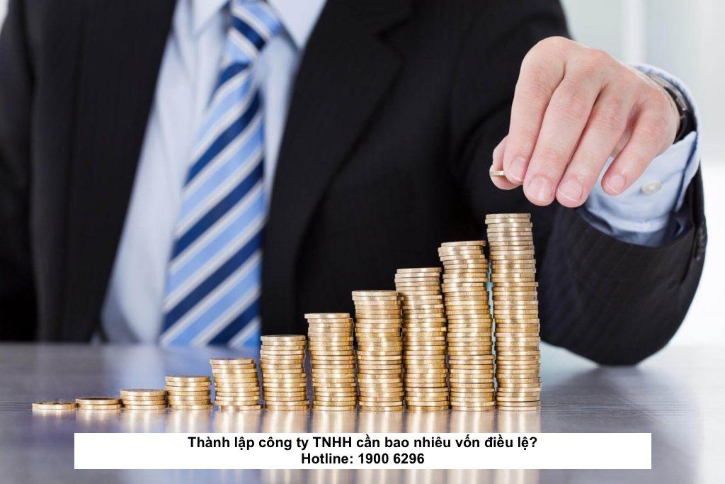 Thành lập công ty TNHH cần bao nhiêu vốn điều lệ?
