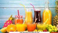 Thành lập công ty kinh doanh đồ uống