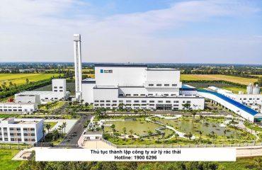 Thủ tục thành lập công ty xử lý rác thải