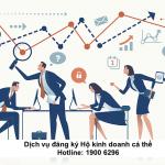 Dịch vụ đăng ký Hộ kinh doanh cá thể