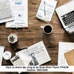 Dịch vụ thành lập công ty tại Quận Bình Thạnh TPHCM